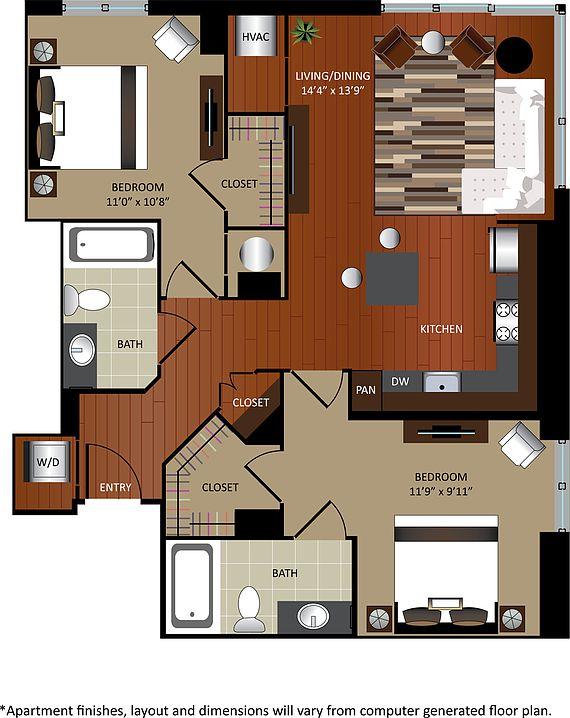 Gables City Vista Apartments - Washington, DC   Zillow