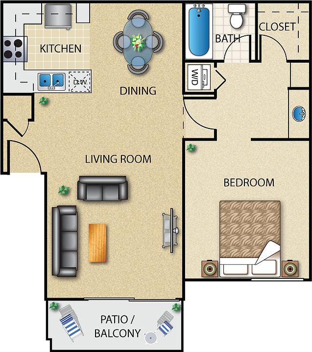 Apartments In Santa Clarita: Diamond Park Apartment Rentals - Santa Clarita, CA