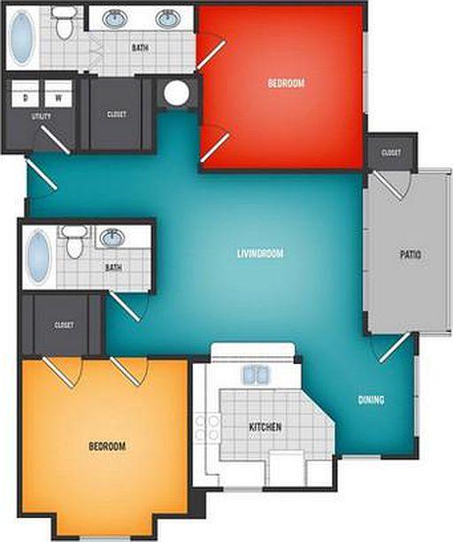 Grandview Heights Apartment Rentals - Glenpool, OK