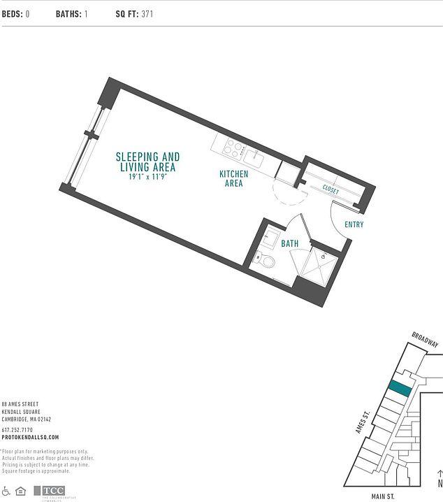 Zillow Ma Rentals: Proto Apartment Rentals - Cambridge, MA