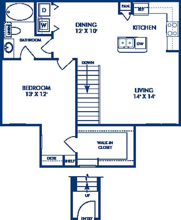 Camden Woodson Park Apartment Rentals - Houston, TX