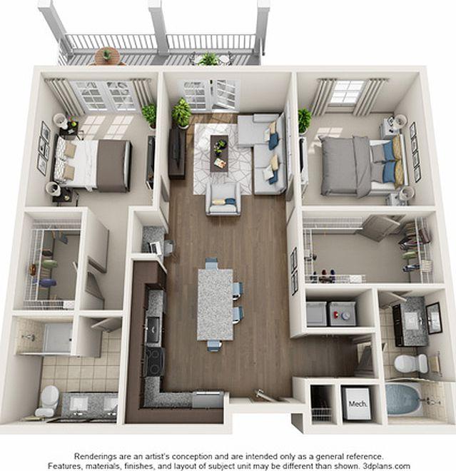 Simmons Park Apartment Rentals - Daniel Island, SC