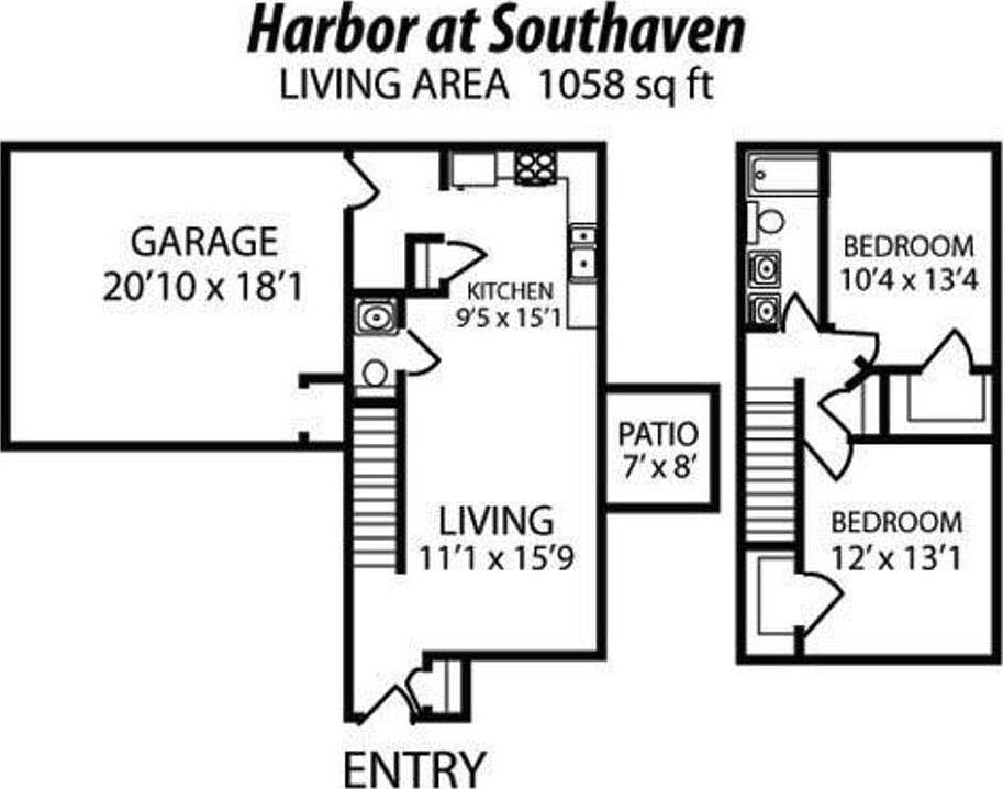 The Harbor At Southaven Apartment Rentals Lafayette In