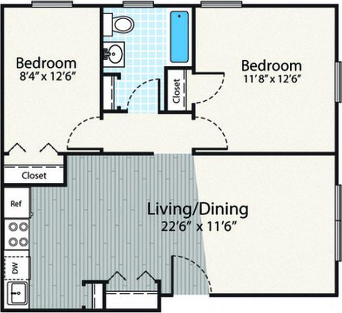 Dover Apartments: Princeton Dover Apartments - Dover, NH