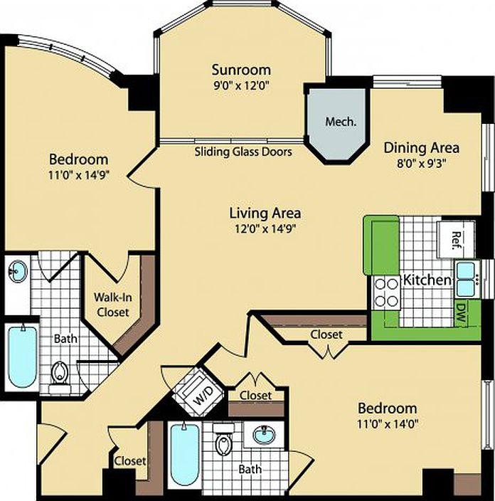 Meridian at Ballston Commons Apartments - Arlington, VA | Zillow