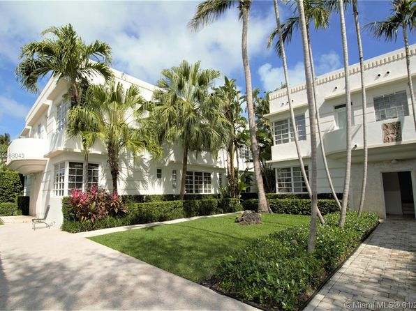 Art Deco Style Miami Beach Real Estate 17 Homes For Sale Zillow