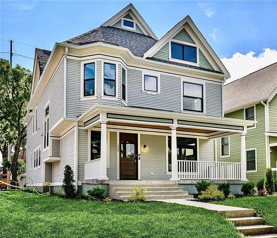 1909 N New Jersey St Indianapolis In 46202 Zillow