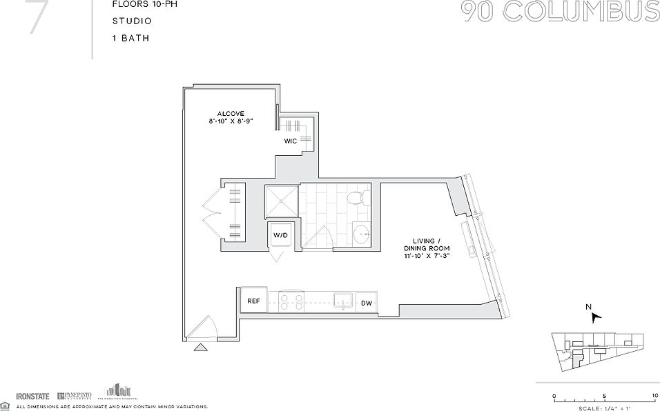 90 Columbus Apartment Rentals Jersey City Nj Zillow