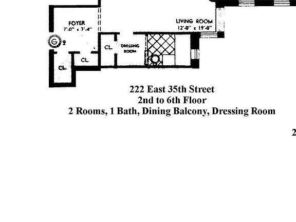 222 E 35th St APT 3G, New York, NY 10016 | Zillow