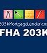 FHA 203k Mor…, Real Estate Pro in CA,