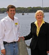 Carl Joye and Sing Pappas, Agent in Port Royal, SC