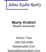 Marty Kratish, Real Estate Pro in Cooper City, FL