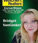 Bridget VanGinkel, Real Estate Agent in Two Rivers, WI