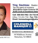 Ying Gautreau, Real Estate Agent in Metuchen, NJ