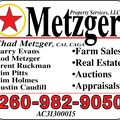 Chad Metzger, Real estate agent in North Manchester