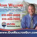John Williams Team; RE/MAX Hearthstone, Real estate agent in Garnet Valley