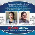 Vargas Sanchez Team, Real estate agent in Lancaster