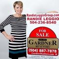 Randie Leggio, Real estate agent in Metairie