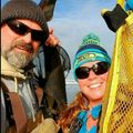 Steven Simmons and Marti Schmidt, Real estate agent in Ocean Shores