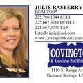 Julie Rasberry-realtor, Real estate agent in Denham Springs