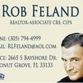 Robley Feland, Real estate agent in Coconut Grove