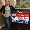 Stephanie Mayes, Real estate agent in Newton