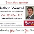 Nathan Wenzel, Real estate agent in Pittsford