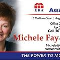 Michele Fay, Real estate agent in Augusta