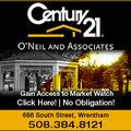 Century 21 O'Neil & Assoc., Real estate agent in Wrentham