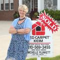 Michelle Plunkett, Real estate agent in Davison