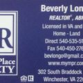 Beverly Longo, Real estate agent in