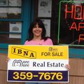 Marie Hoey, Real estate agent in