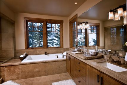 craftsman master bathroom with double sink by alder and tweed zillow digs zillow - Craftsman Bathroom Ideas
