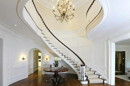 Traditional Staircase with Balcony Wainscoting Zillow Digs