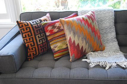 Eclectic Living Room with Throw pillows & Accent pillows | Zillow ...