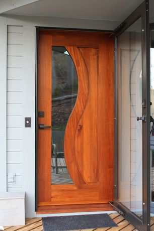 Modern Front Door With Glass Panel Door French Doors