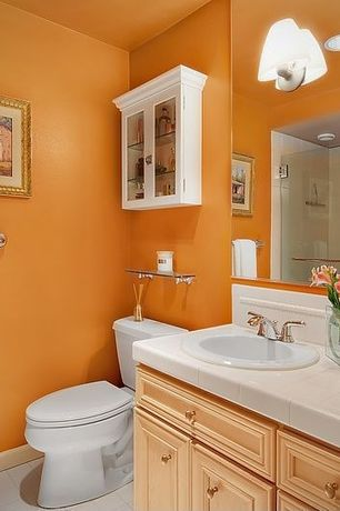 Orange Bathroom Modern Orange Bathroom Design Ideas & Pictures  Zillow Digs  Zillow