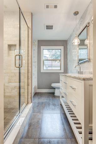 bathroom slate tile floors design ideas & pictures