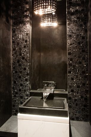 luxury black powder room design ideas pictures zillow digs zillow. Black Bedroom Furniture Sets. Home Design Ideas