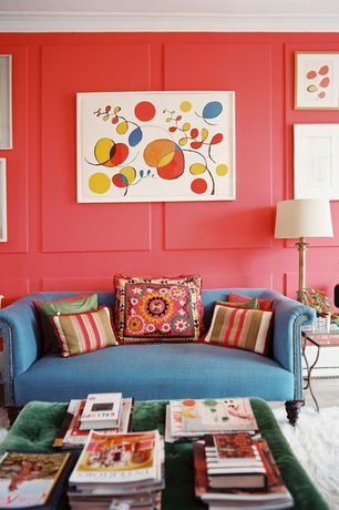 Pink Living Room Ideas - Design, Accessories & Pictures | Zillow ...