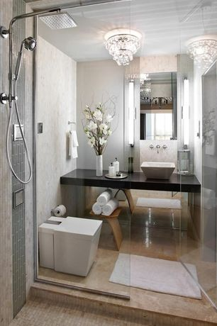 Bathroom Chandelier Lighting Ideas white 3/4 bathroom chandelier design ideas & pictures | zillow