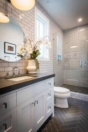 Traditional 3 4 bathroom design ideas pictures zillow for Bathroom ideas zillow