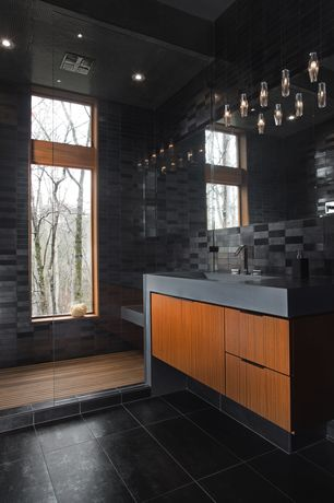Modern Black Bathroom Design Ideas & Pictures | Zillow Digs | Zillow