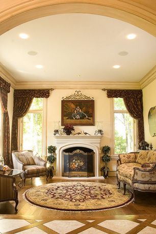1 tag Traditional Living Room with Crown molding  Hardwood floors  metal  fireplace  Cement fireplaceSherwin Williams Biltmore Buff Living Room Crown Molding   Zillow  . Living Room Crown Molding. Home Design Ideas
