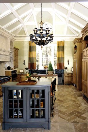 Luxury Kitchen Design Ideas with High ceiling