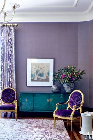 5 Tags Traditional Living Room With Moulin Armchair Velvet, Chandelier,  Interior Wallpaper, Built In Part 46
