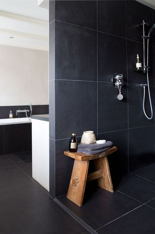 Black master bathroom design ideas pictures zillow for Bathroom remodel zillow