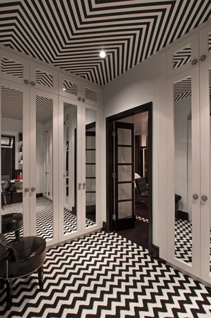 2 Tags Traditional Closet With Home Value Chevron Rug