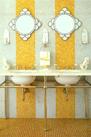 4 tags eclectic master bathroom with console sink ceramic tile floors double sink gramercy double