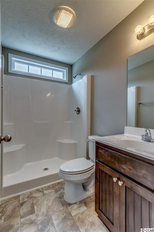 Bathroom slate tile floors design ideas pictures for Bathroom remodel zillow